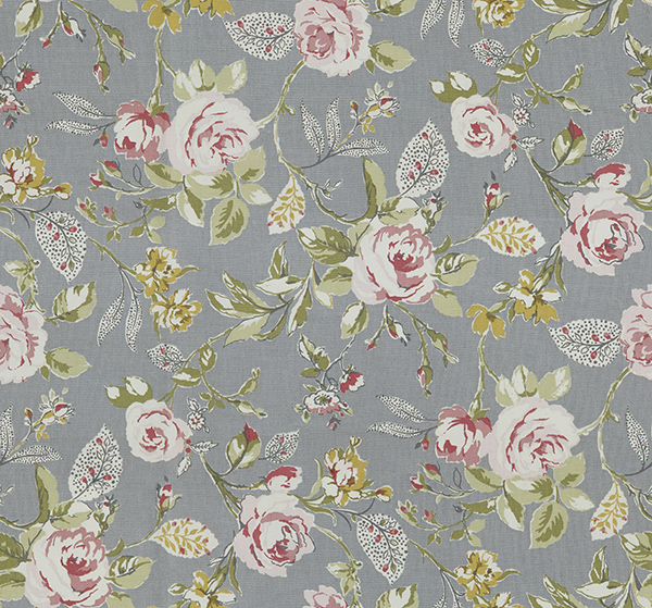 Repeating Flower Fabric