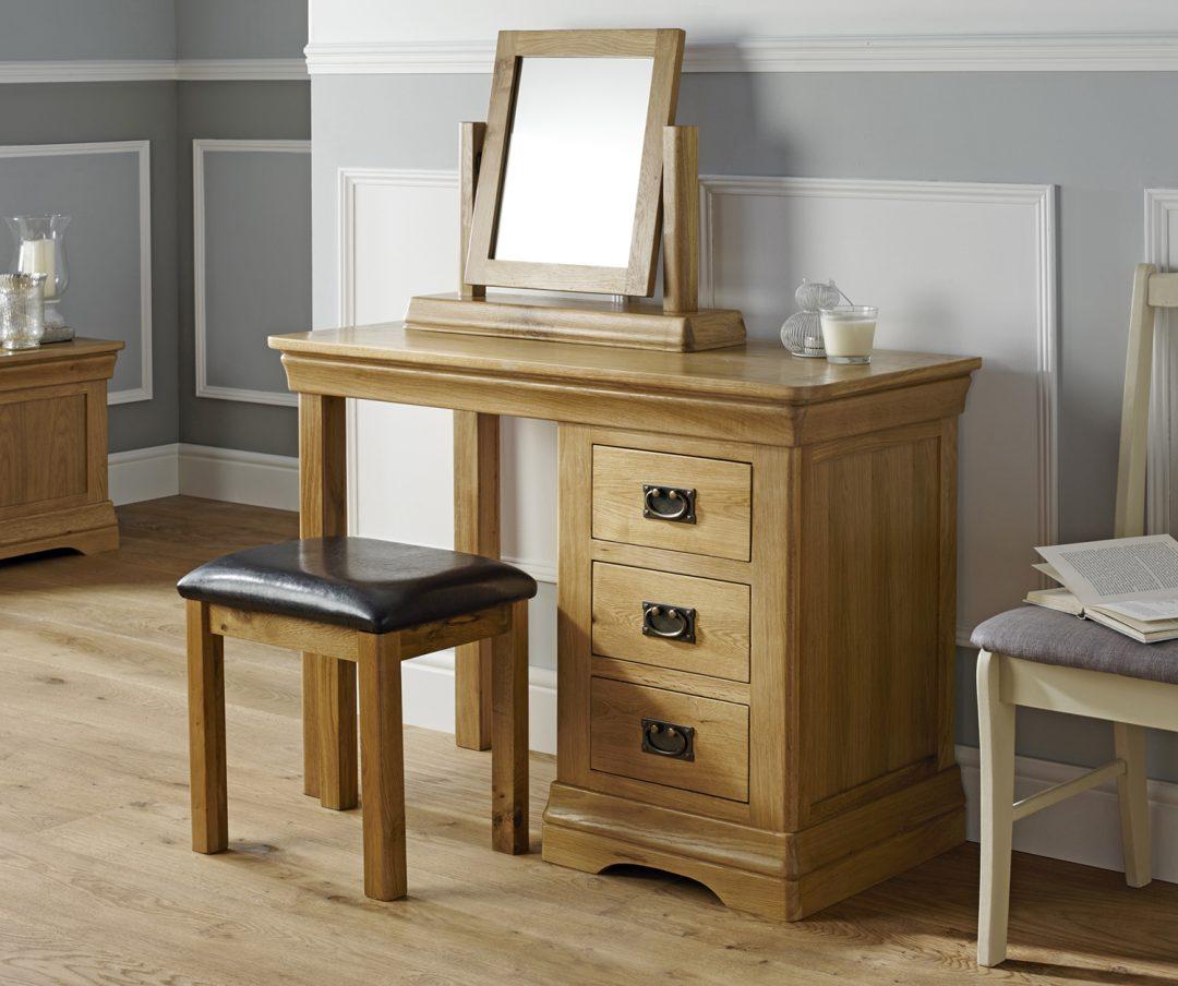 Dressing Table Mirror + Stool Angle Option B
