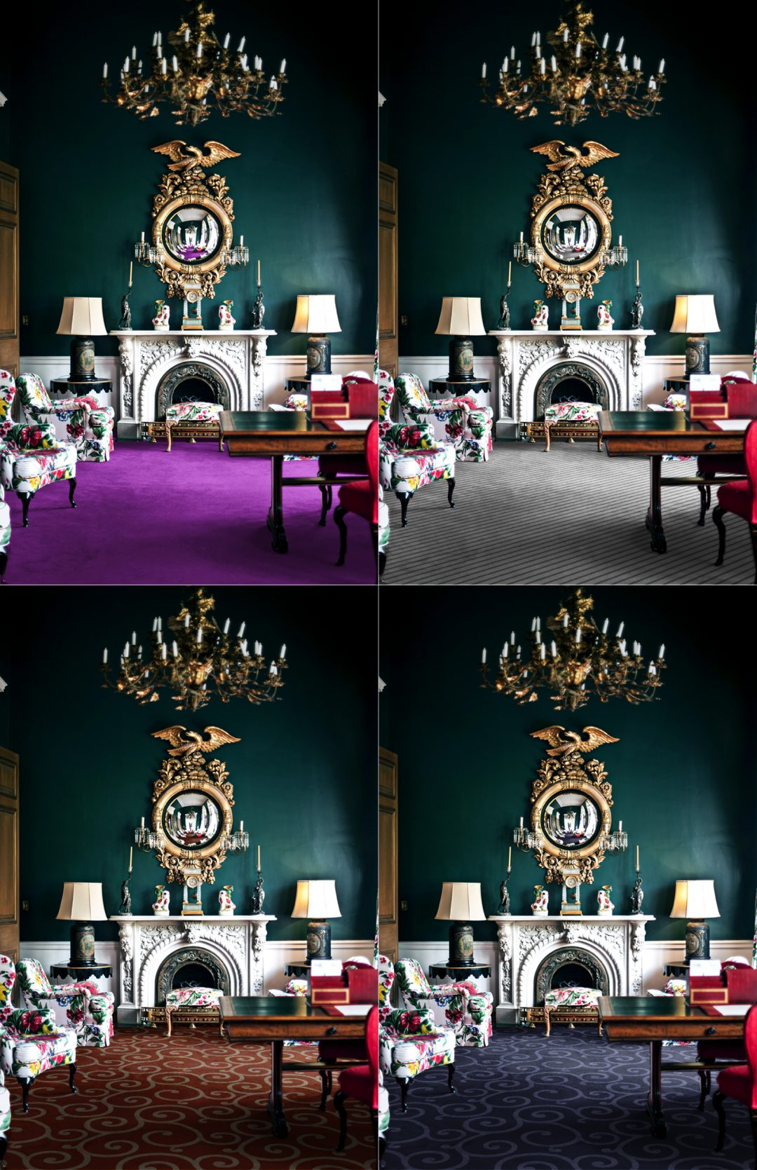 Realistic Rendering Carpet Examples