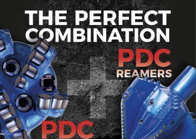 PDCD Reamers PDC Bits Perfect Combination