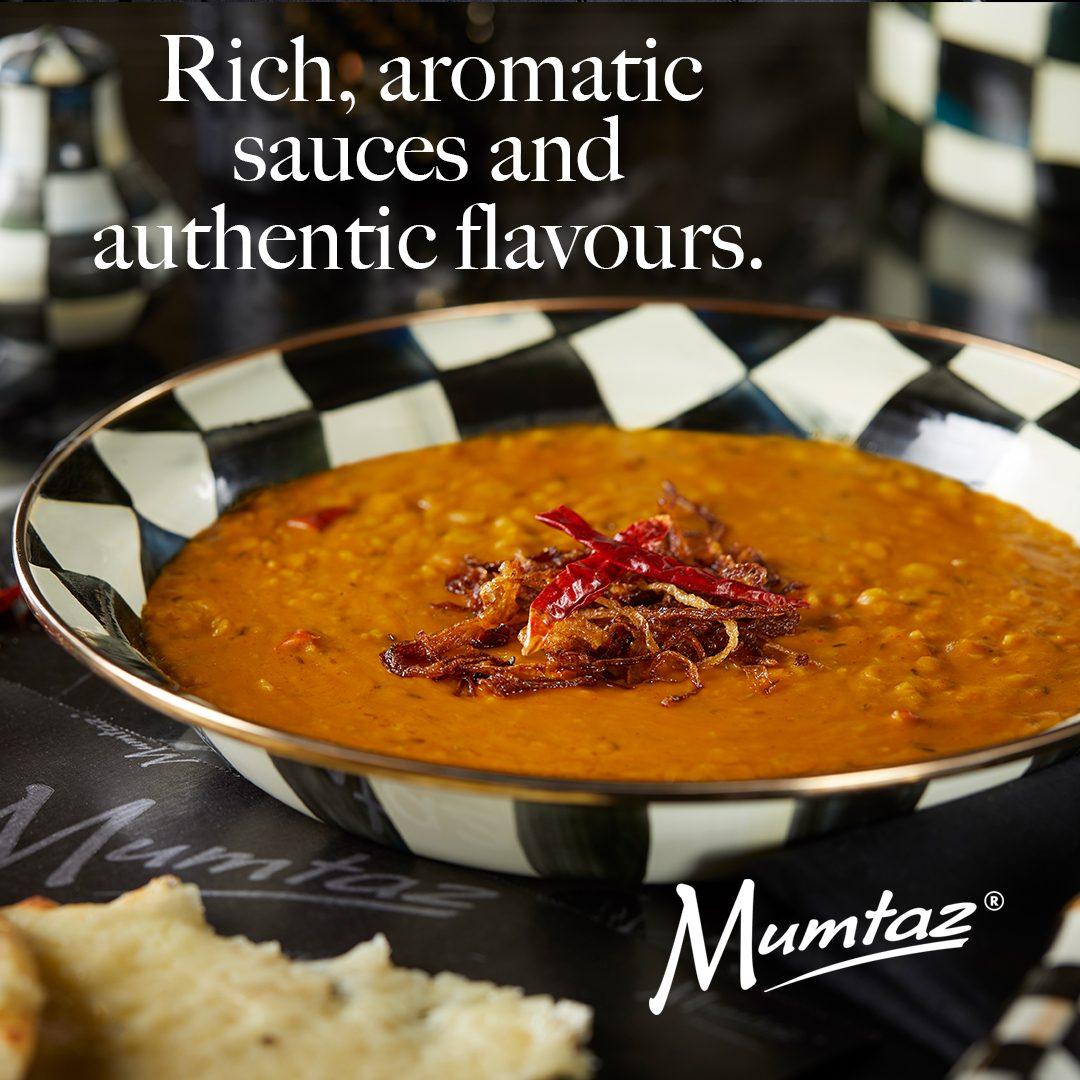 Mumtaz rich aromatic sauces social media