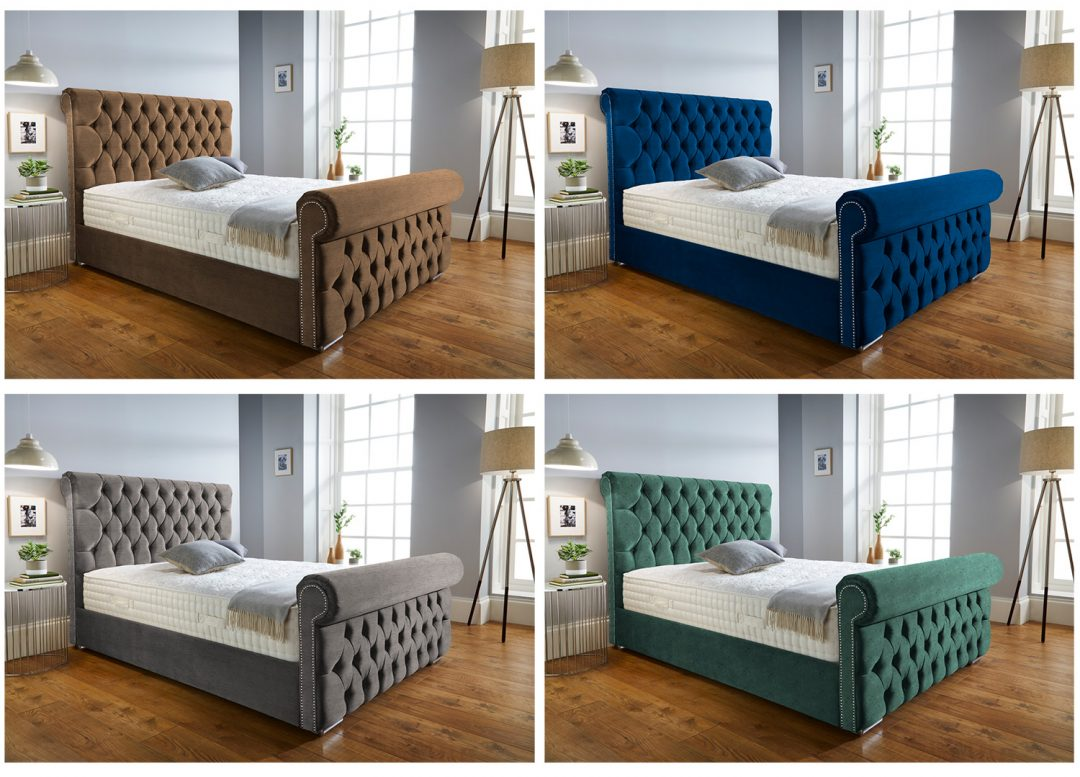Bed in multiple colour variants by 2020 Perfect Vision